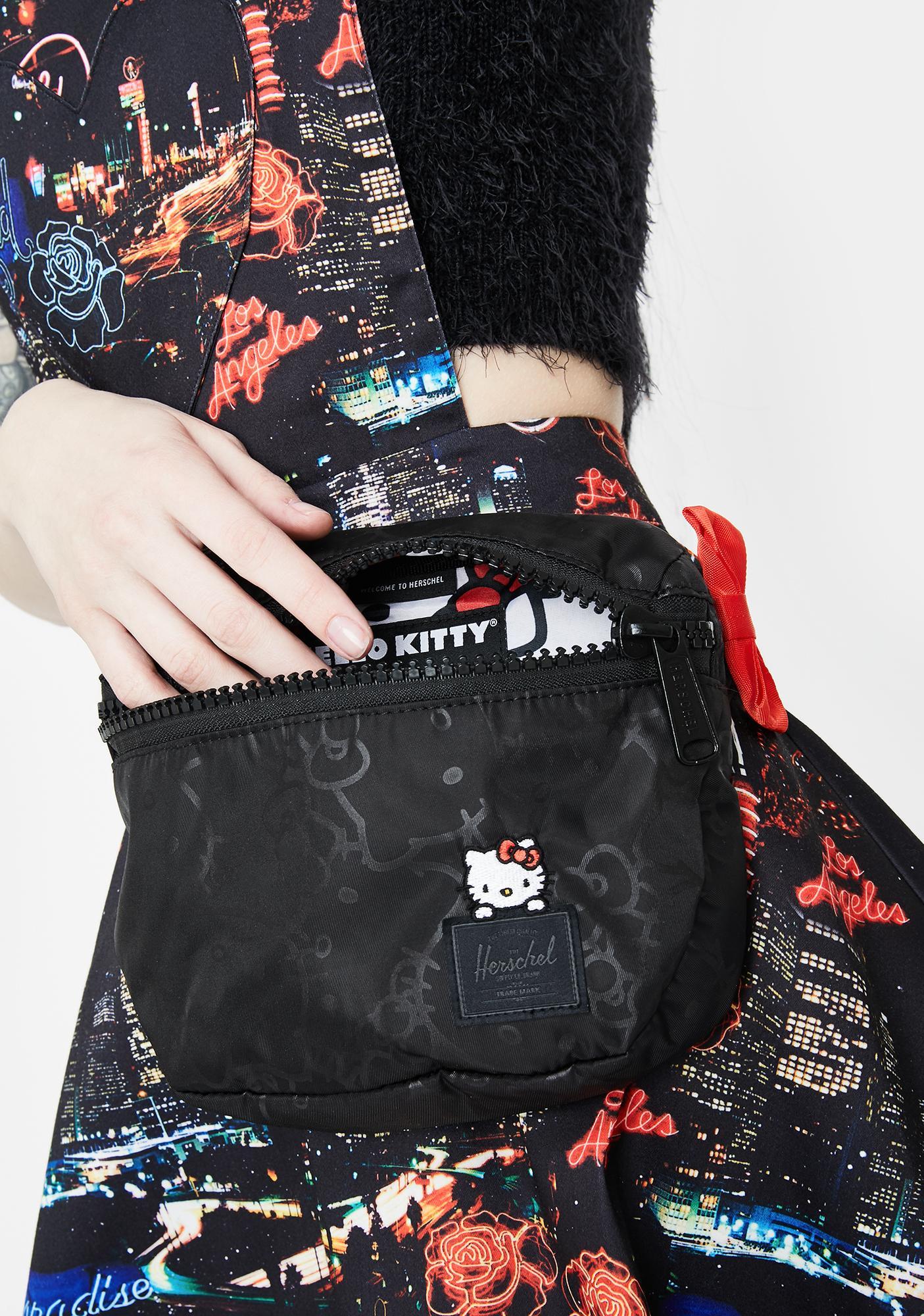 Herschel X Hello Kitty Satin Hip Pack