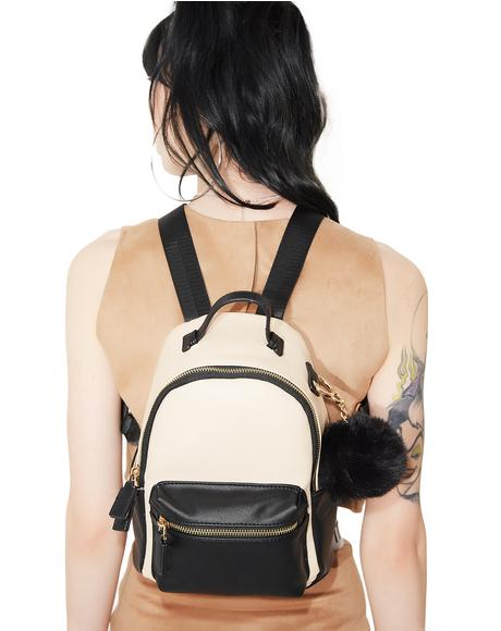 Karla Two Tone Backpack