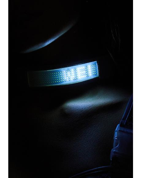 Beamed Up Baddie Light-Up Choker