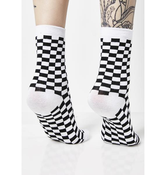 Check U Out Socks