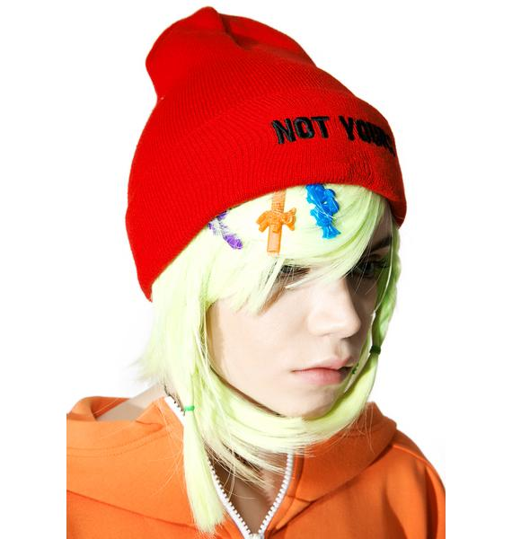 Local Heroes Not Yours Beanie