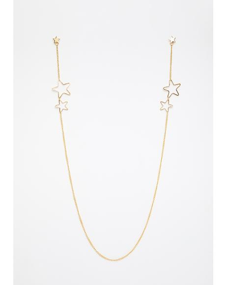 Gilded Road Star Earrings