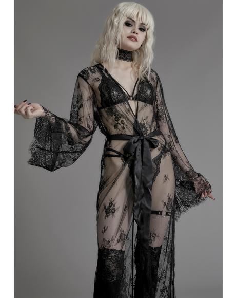Wrinkle In Time Lace Robe