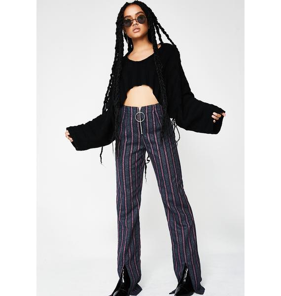 Spicy Get Down Stripe Pants