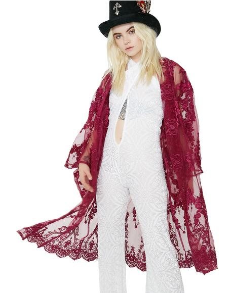 Desert Goddess Lace Kimono