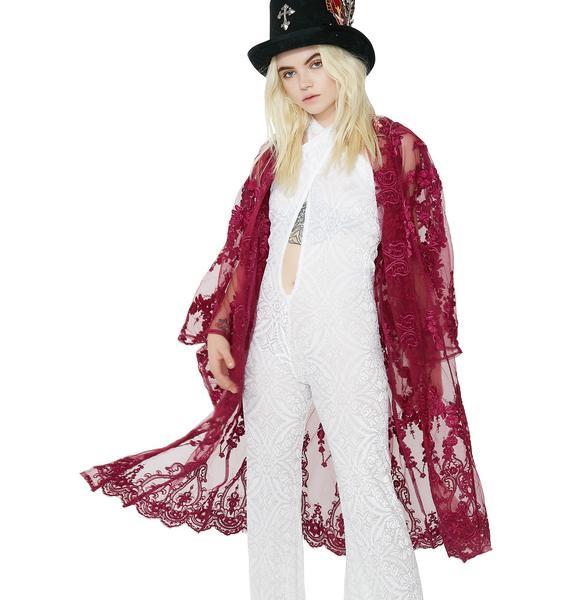 Club Exx Desert Goddess Lace Kimono