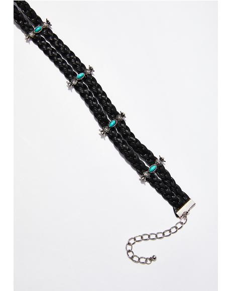 Blazin' Star Braided Choker