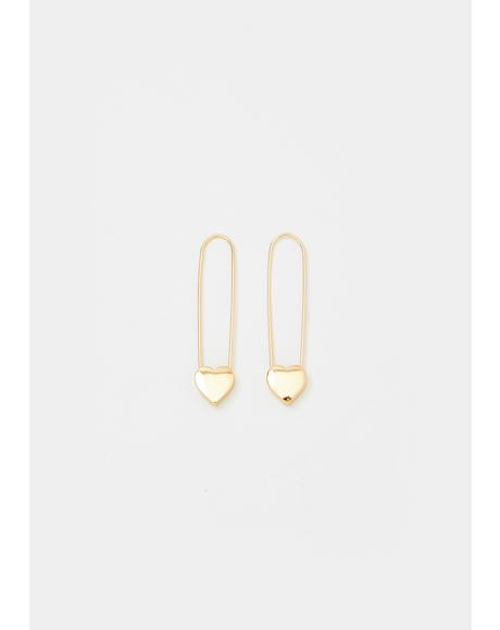 Fast Heartbeat Drop Earrings