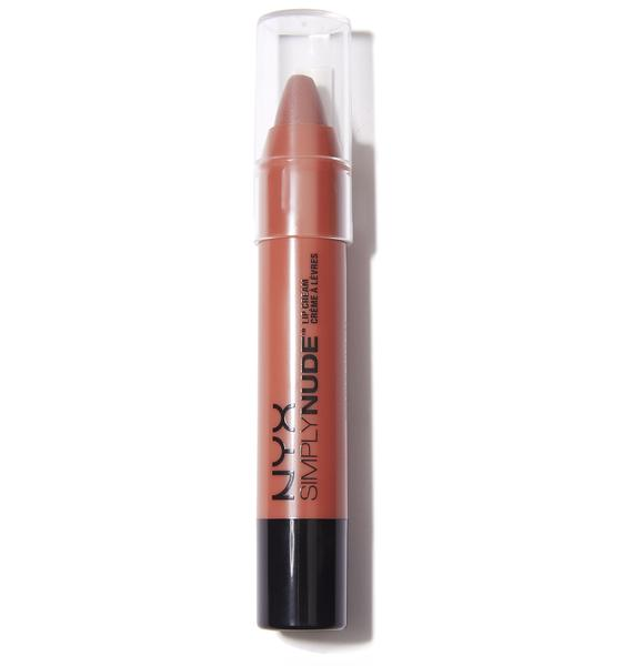 NYX  Sable Simply Nude Lip Cream