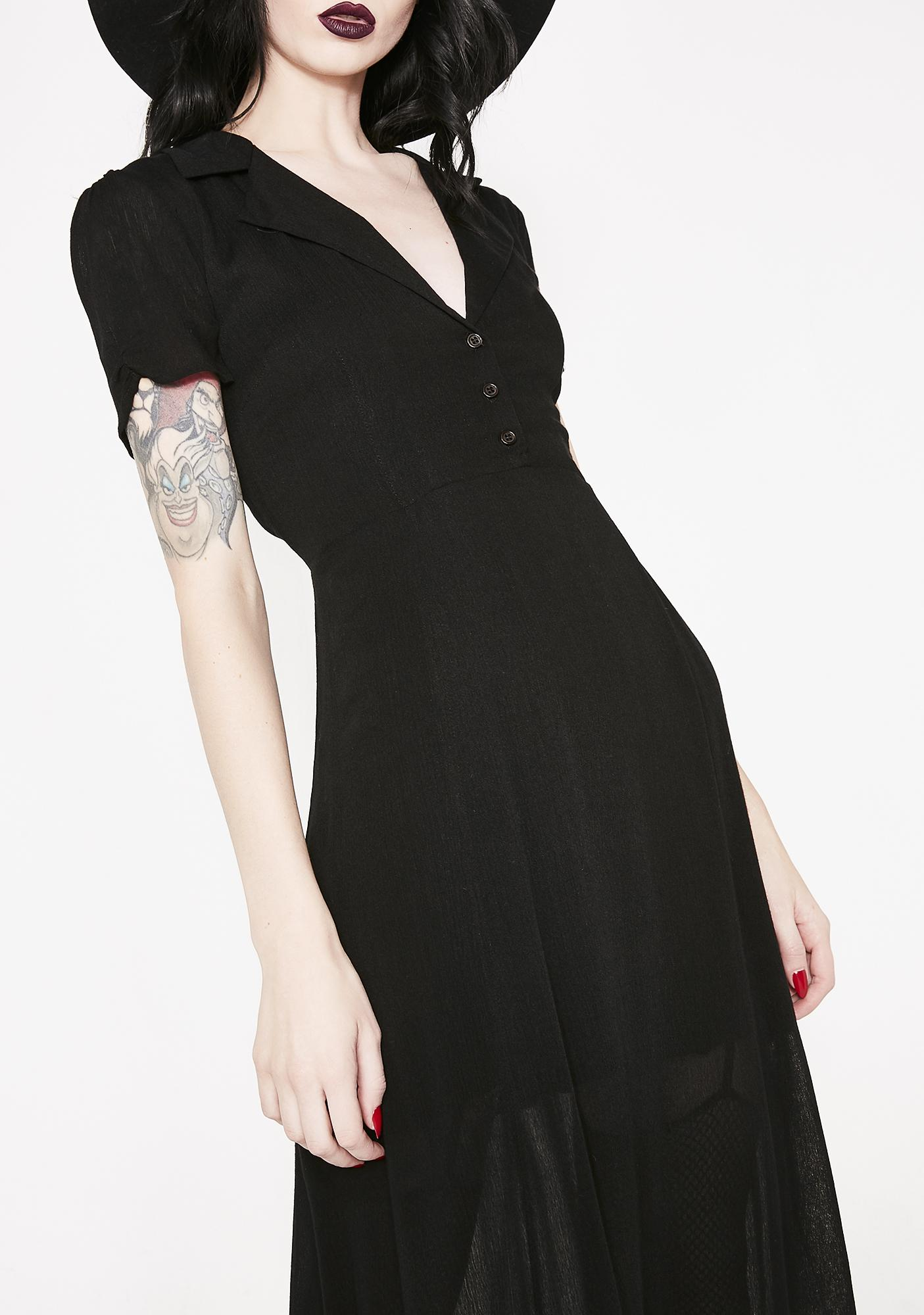 Ominous Wind Shirt Dress