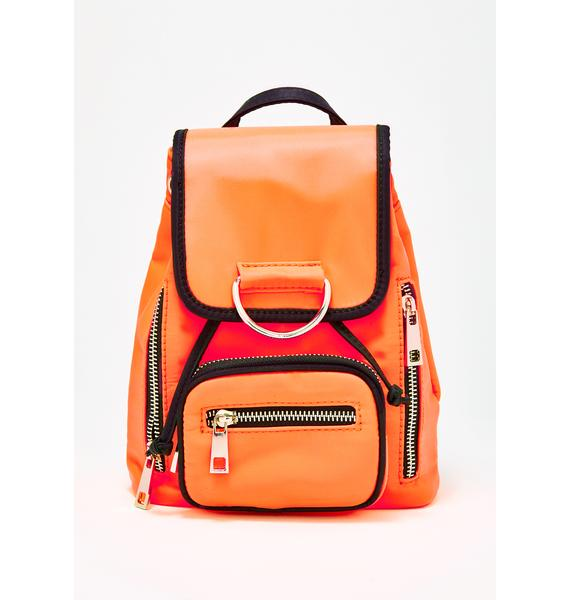 Current Mood Super Charged Nylon Backpack