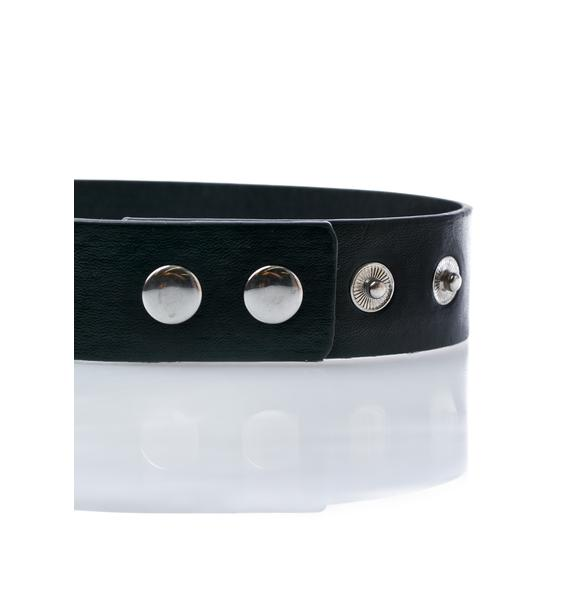 Killstar Emily Heart-Locket Choker