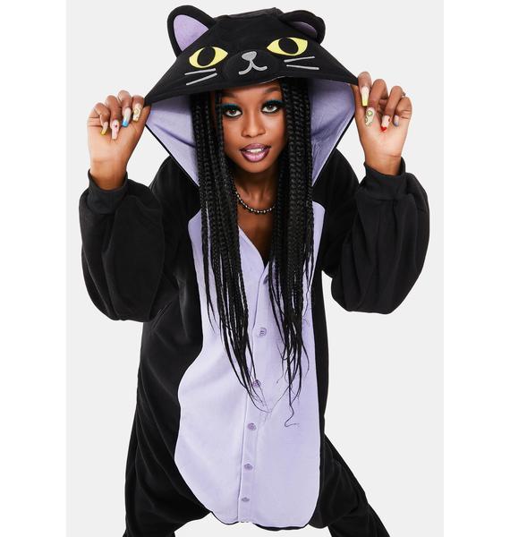 Sazac  Black Cat Kigurumi