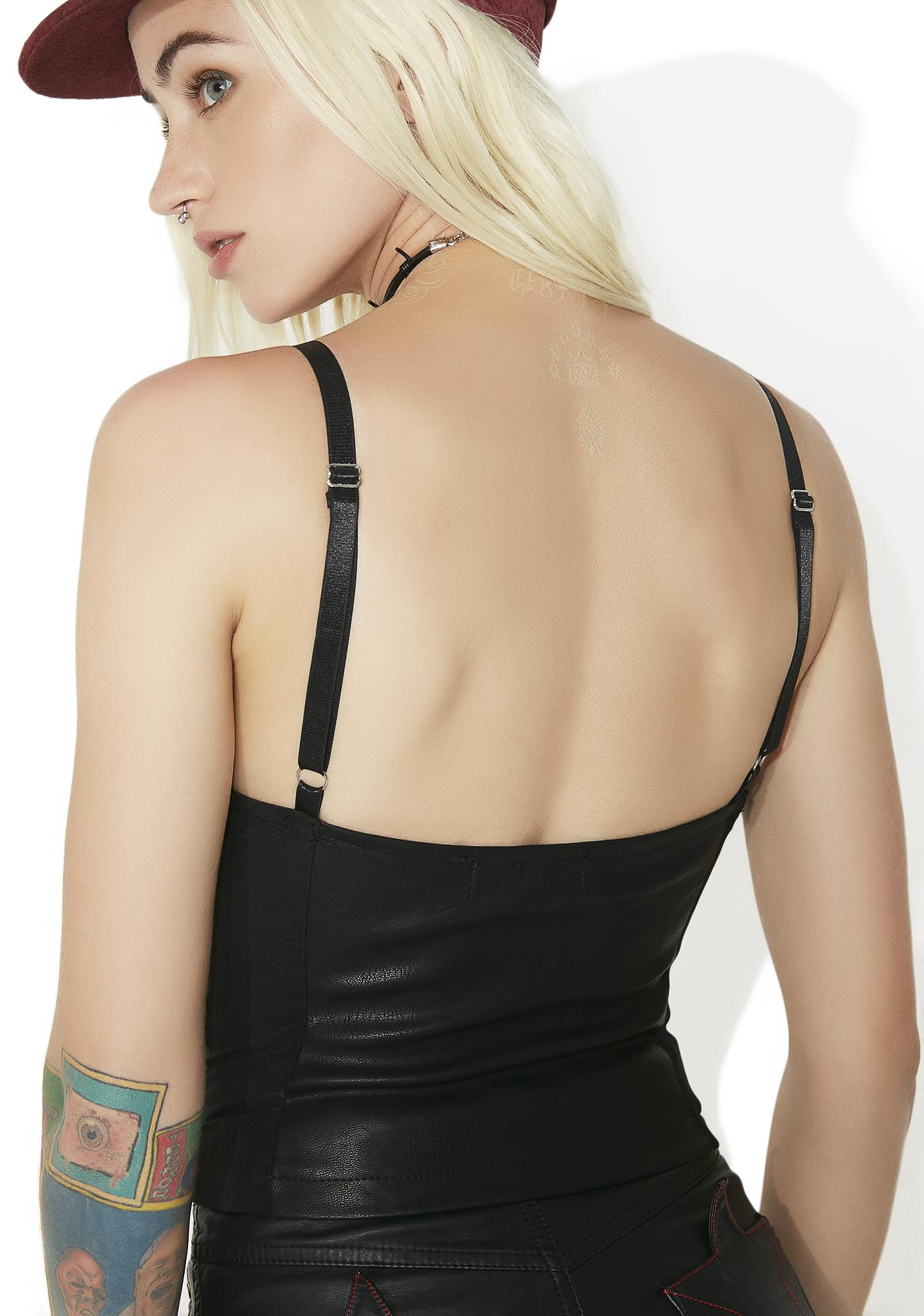 High Roller Bustier Top