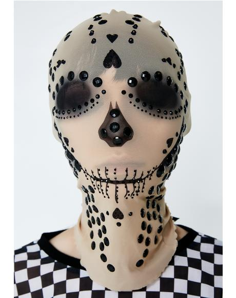 Deadly Love Skull Mask