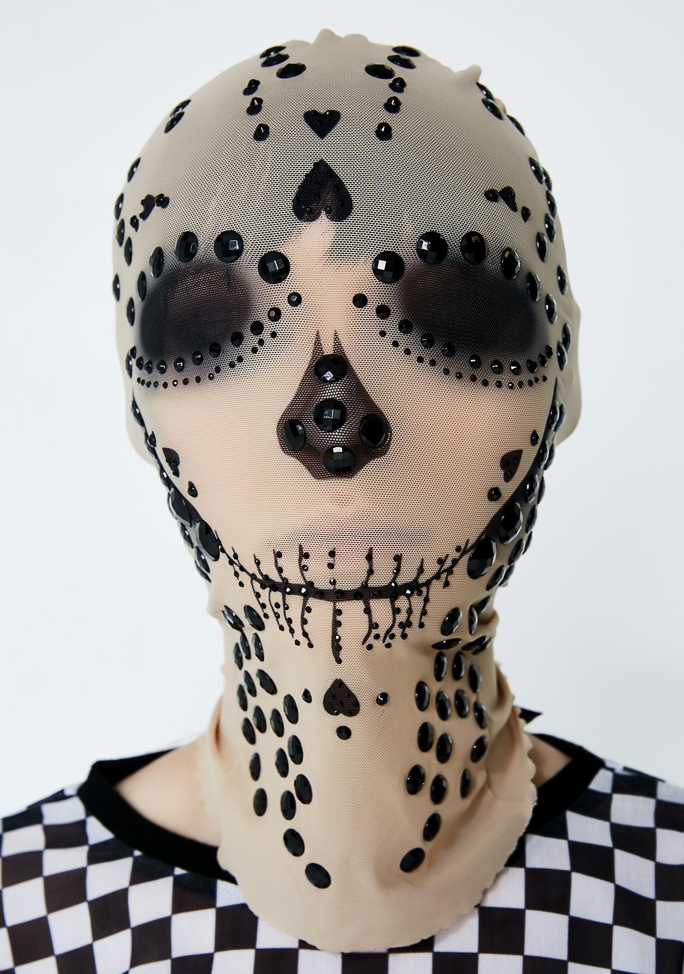 Kiki Riki Deadly Love Skull Mask