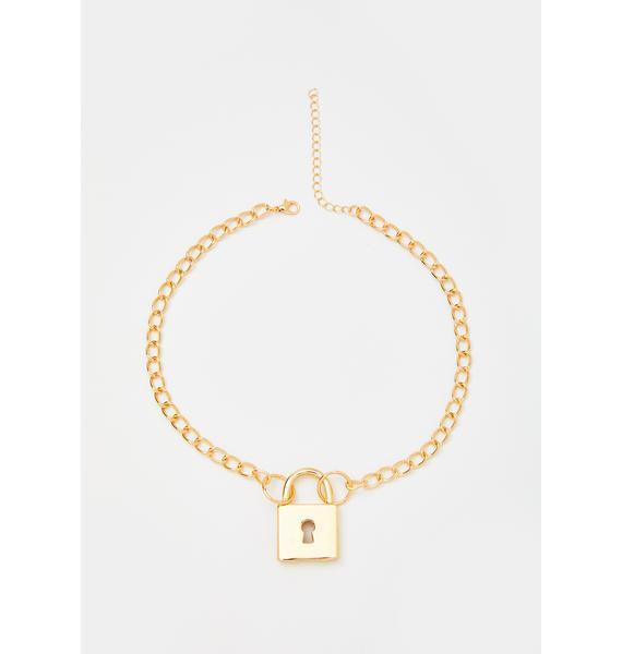 Luxury Lockdown Chain Necklace