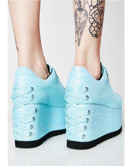 Swt N' Sour Glitter Sneakers