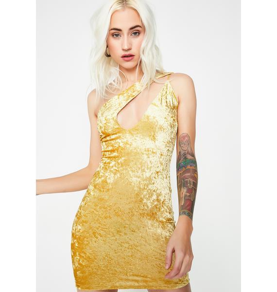 Dream Come True Velvet Dress