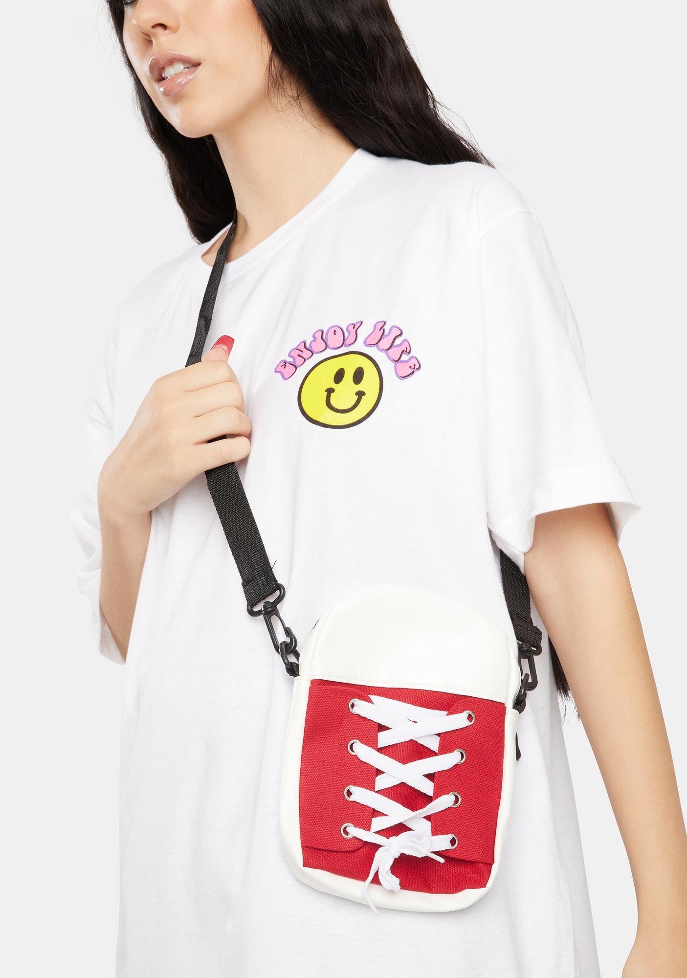 Ruby High Top Heaven Crossbody Bag