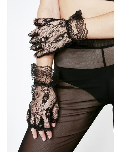 Dear Desire Lace Gloves
