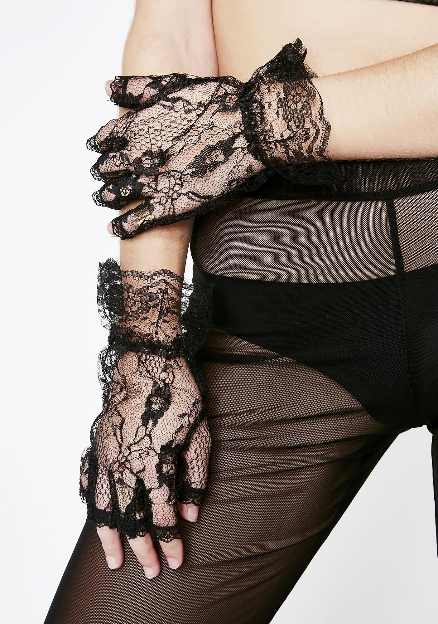 Dear Desire Lace Gloves