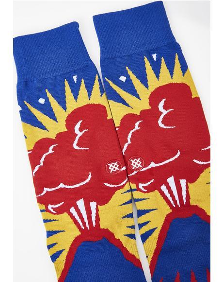 Volcano Crew Socks