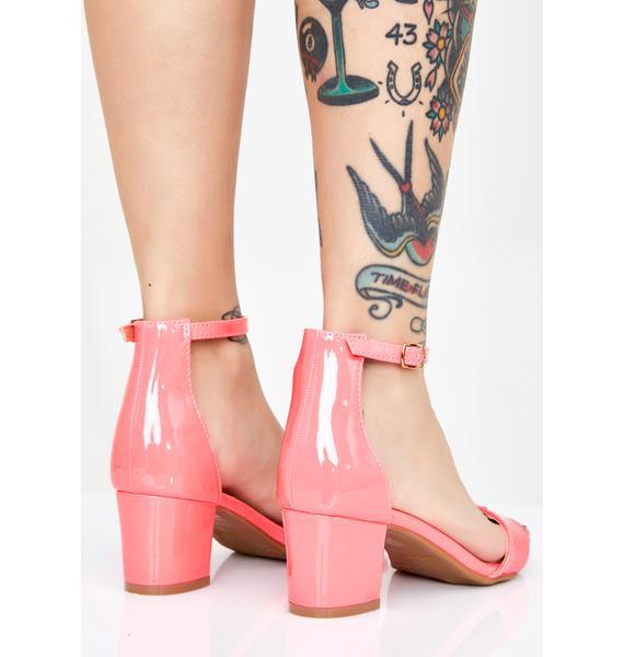 Sweetie Play Nice Block Heels