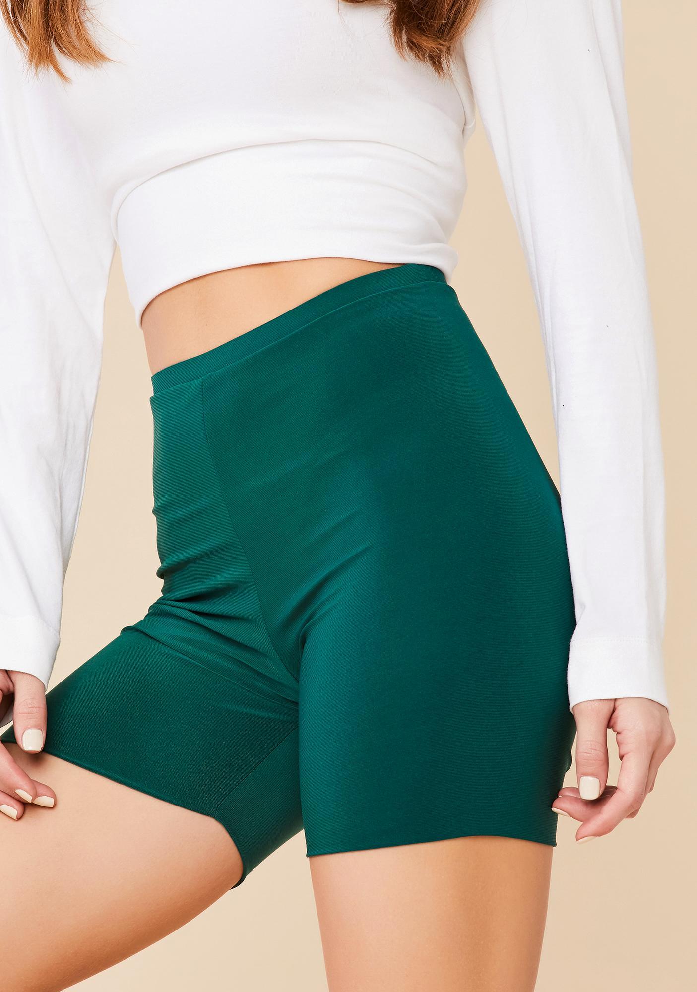 Rave shorts Festival outfit Knee length shorts Printed biker shorts High waisted womens shorts