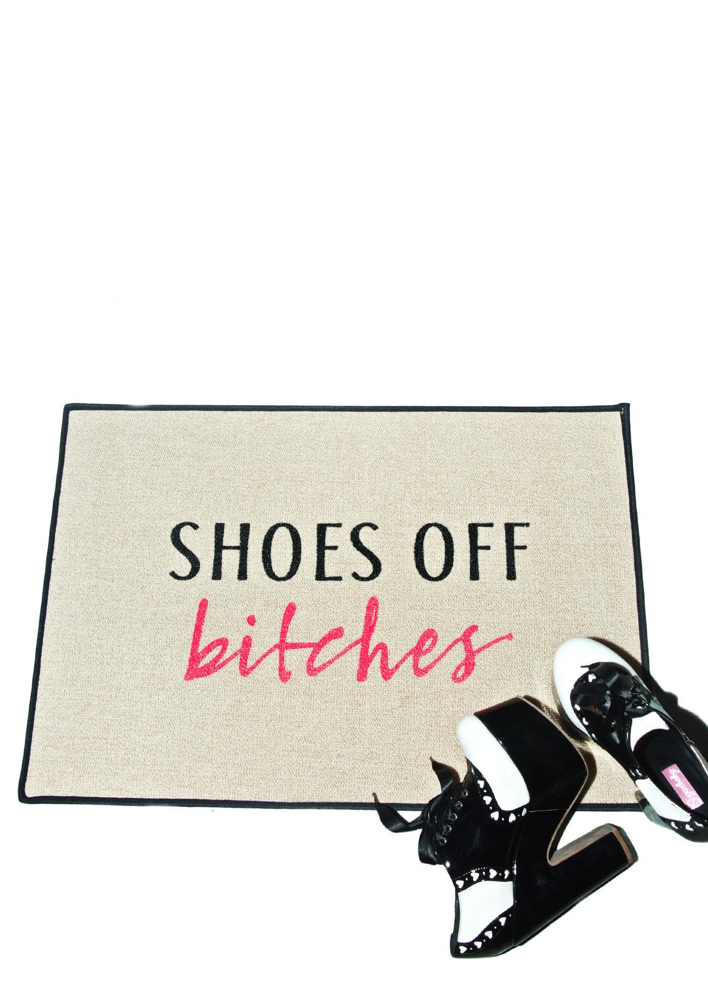 Shoes Off Doormat Uk Style Guru Fashion Glitz Glamour