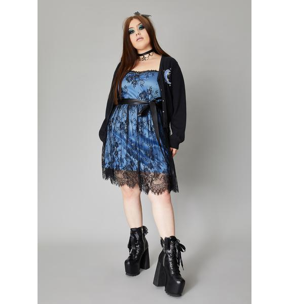Widow Truly Happily Ever Never Lace Dress