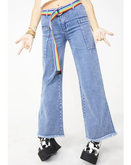 American Weirdo Wide-Leg Jeans