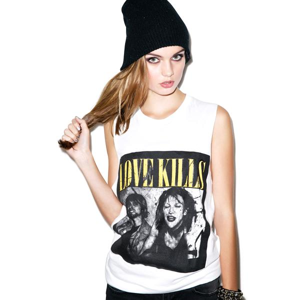 Kill Brand Love Kills Kurt Sleeveless Tee