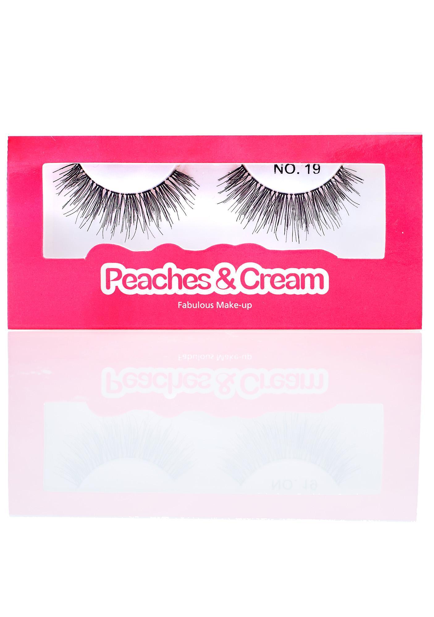 Peaches & Cream No. 19 False Lashes