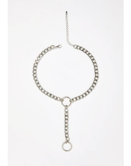 Leader Of The Pack Lariat Choker