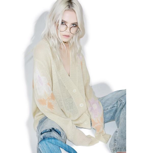 Wildfox Couture Petal Pusher Joni Sweater