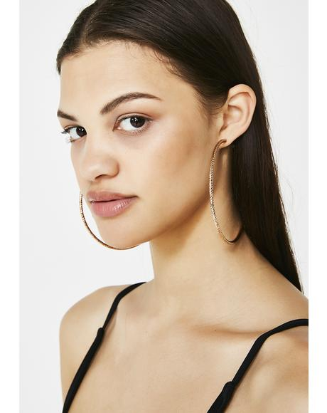 Dunkin' Hoopz Earrings