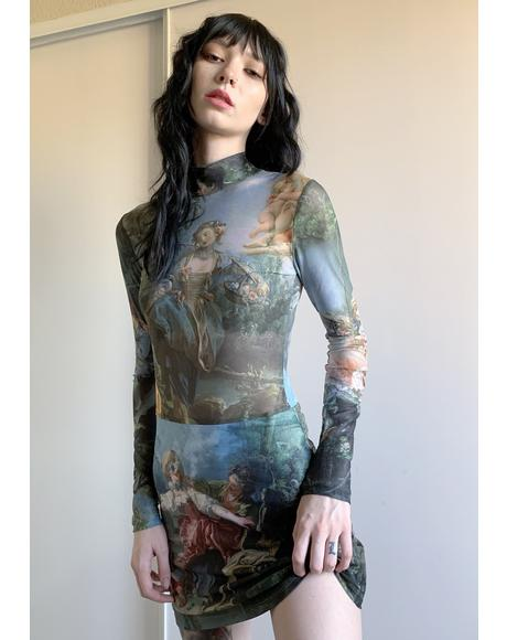 Da Vinci's Demons Mesh Dress