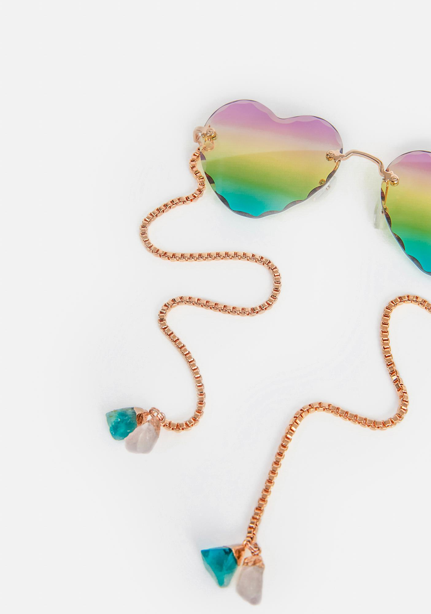 My Willows Two Hearts That Beat As One Sunglasses