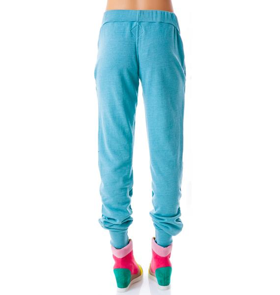 Day By Day Sunshine Elastic Sweatpants