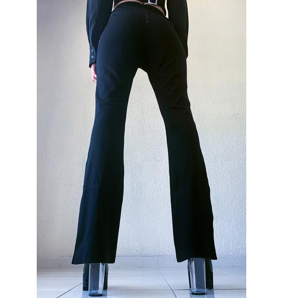 Poster Grl Game The System High Waist Flares