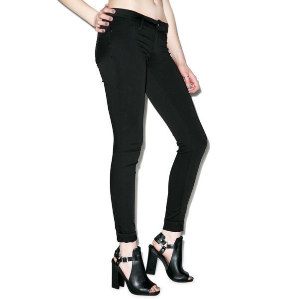 Blank NYC Dress To Kill Spray On Skinny Jeans