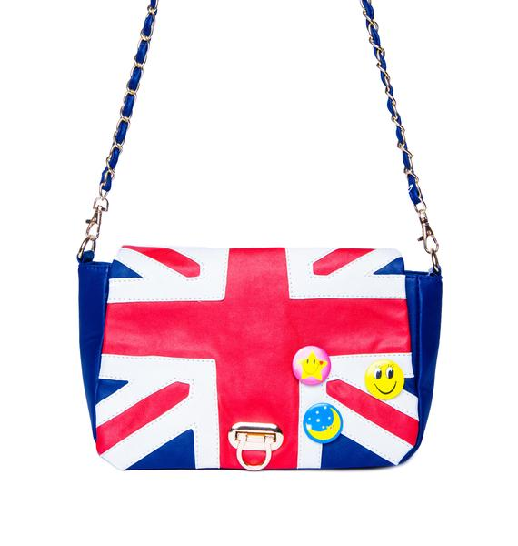 God Save The Queen Chain Purse