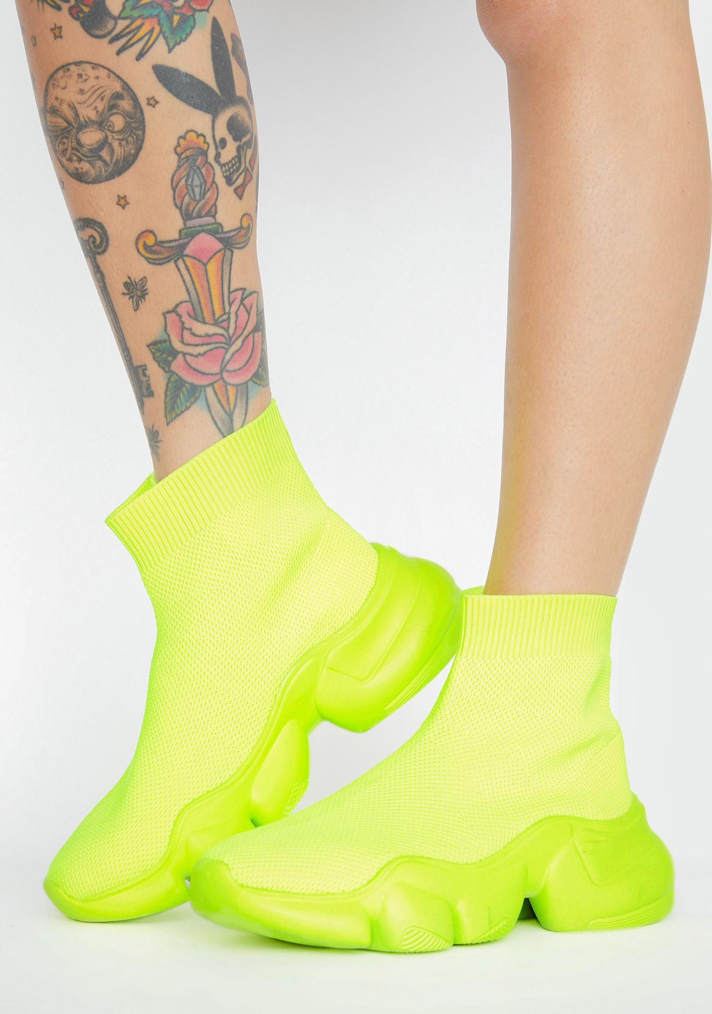 Cash Clout Command Sock Sneakers
