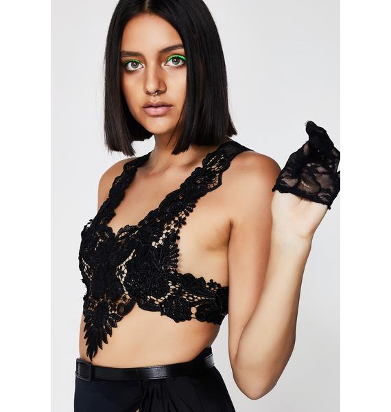 Kiki Riki When Nightfalls Crop Top