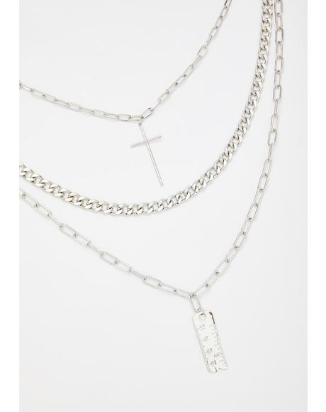 Rule Me Out Layered Necklace