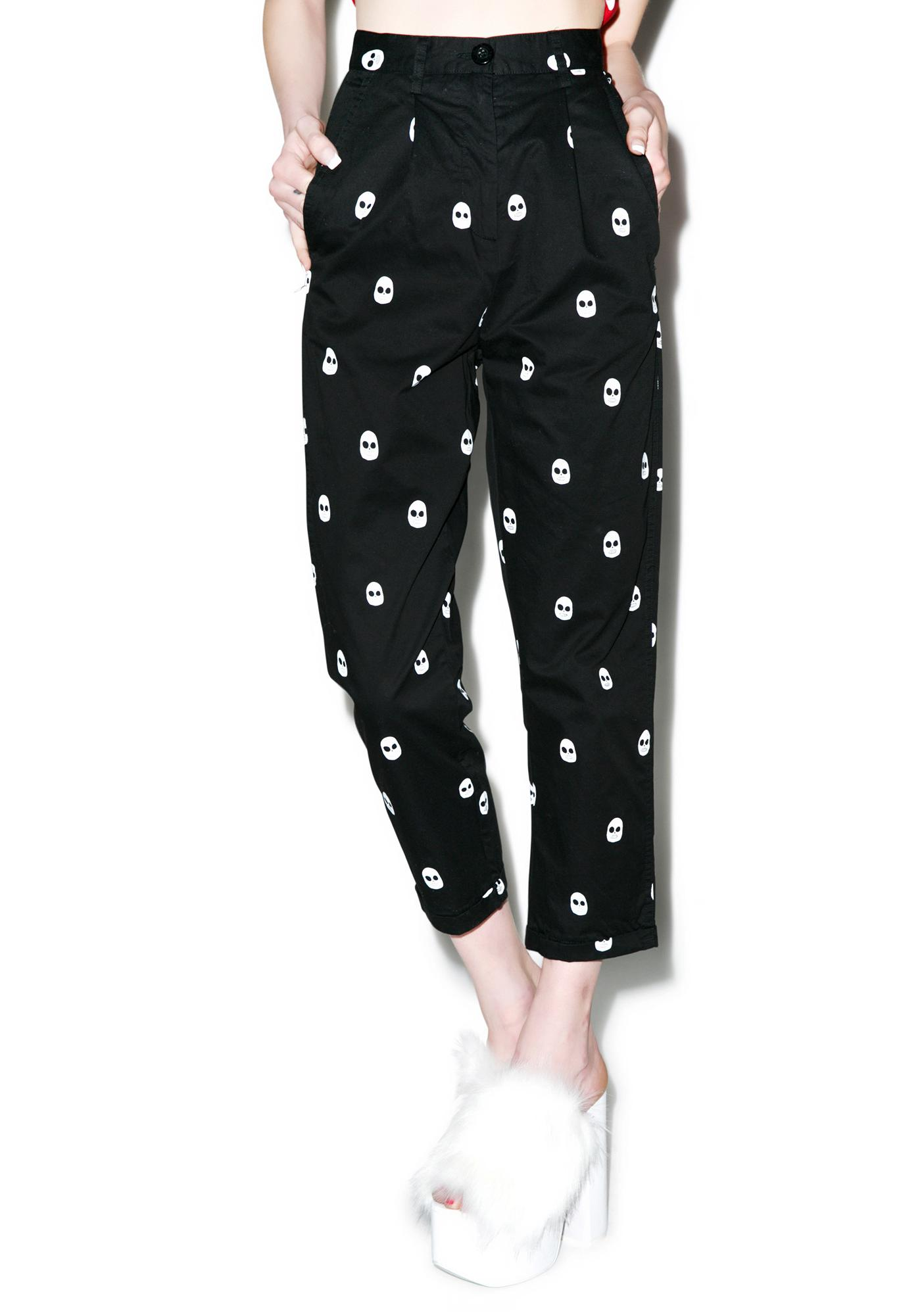 Lazy Oaf Skull Trousers