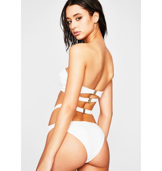 Haute Shot Ribbed Bikini Set