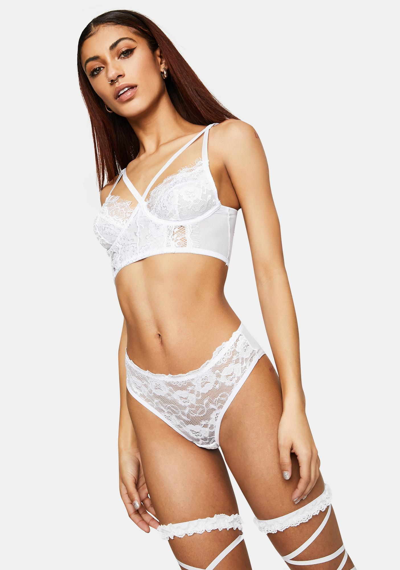 Halo Not Your Muse Lace Set
