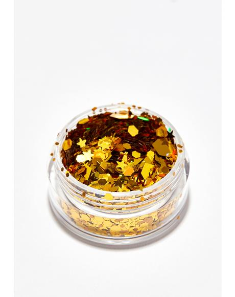Gold Chunky Glitter